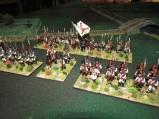 Two Line battalins and a militia battalion