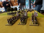 Spanish infantry advancing